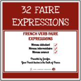 French Faire Expressions Lesson Plan - Intermediate - Advanced Level