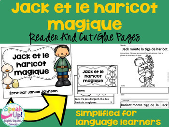 French Fairy Tale Readers {Bundle #3} & Sentence forming pages