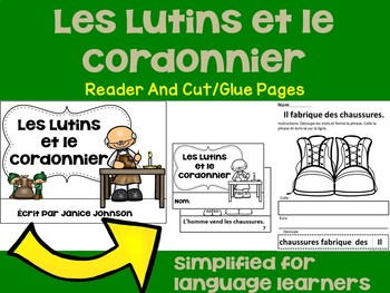 French Fairy Tale Readers {Bundle #4} & Sentence forming pages