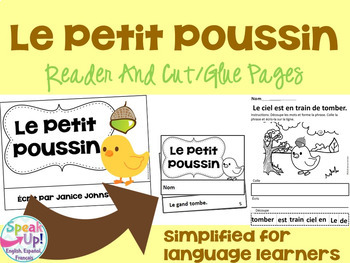 French Fairy Tale Readers {Bundle #6} & Sentence forming pages