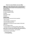 French Fairy Tale Writing Assignment