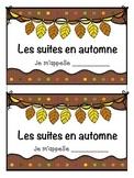 French Autumn Math Patterning Activity - Les suites en francais