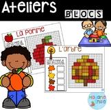 French Fall Building blocs mats/ Atelier Blocs constructio