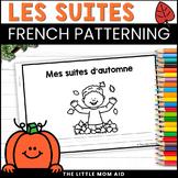 French Fall Patterns Activity: Les Régularités d'Automne en français