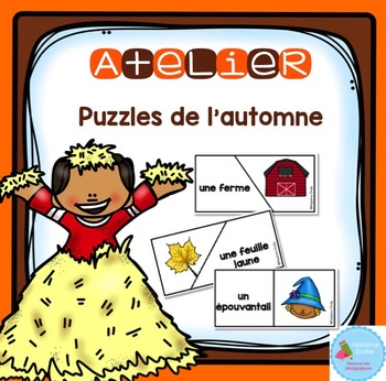 French Fall Puzzles/ Casse-tête {Mots d'automne}