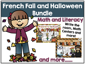 French Fall and Halloween Bundle