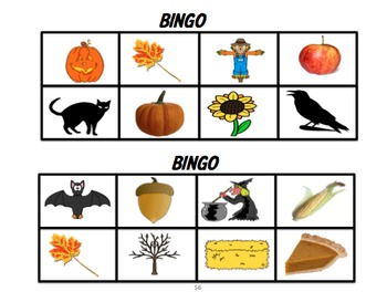 French Fall and Halloween Literacy Unit