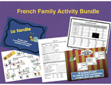 French Family Bundle (Task Cards, Family Tree, Oral Prompt