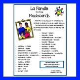 French - Family Flashcards