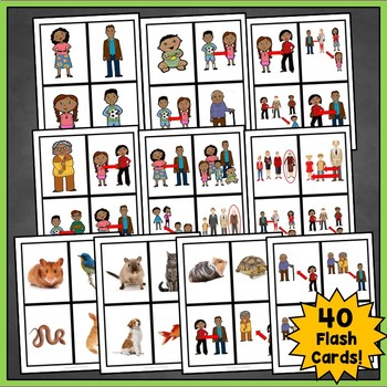 French Family Flashcards,  La Famille Flashcards