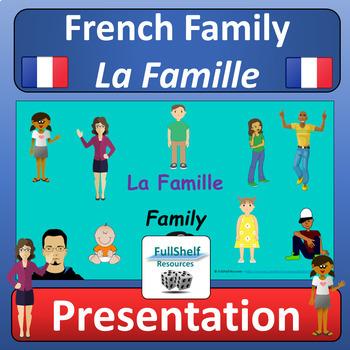 French Family (La Famille) Lesson Presentation