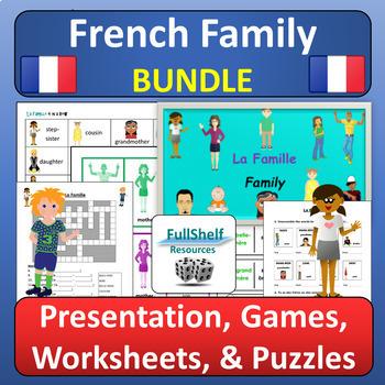 La Famille French Family BUNDLE