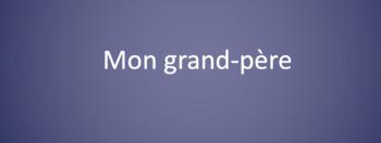 French Family Member Vocabulary - Qui est....? review