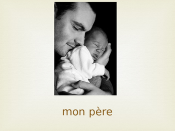 French Family PPT for Young Learners
