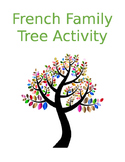 FSL Family Tree Activity -- French Possessive Adjectives a