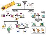 French Family Tree (Extended) - La famille / arbre généalogique