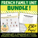 French Family Unit BUNDLE! [La Famille]