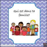French – Famille/Family – oral or written activity:la fami