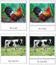 French - Farm Animal Cards
