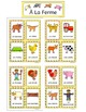 French Farm and Farm Animals Vocabulary - À La Ferme