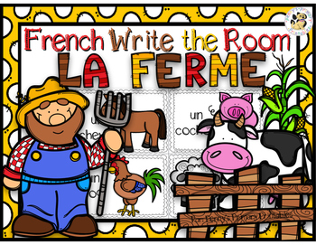 French Farm Write the Room-la ferme
