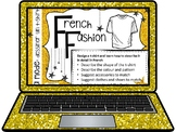 French, Fashion (design your own t-shirt): Presentation