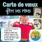 "French Father's Day ""Cardtivity"" (Carte pour la fête des pères)"