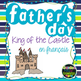 French Father's Day - Craftivity and Writing Paper - King