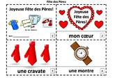 French Father's Day 2 Emergent Reader Booklets - Fête des Pères