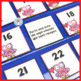 French February Calendar Cards | Février