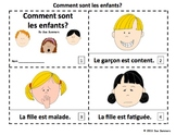 French Feelings 2 Emergent Reader Booklets