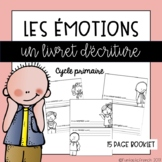 French Feelings writing booklet (Les sentiments)