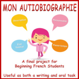 French Final Project (Beginning French) - Mon autobiographie