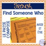 French speaking activity PASSÉ COMPOSÉ activité orale - find someone who