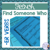 French speaking activity -Find someone who...hobbies and -er verbs