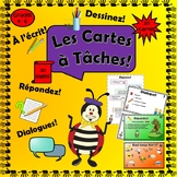 French: First Term Task Cards for Grades 4-6