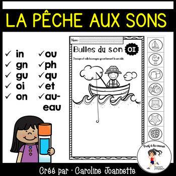 French Fishing Sounds / La pêche aux sons (sons français) Distance Learning