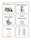 French Flash Cards- Set 1 (Minimal English)