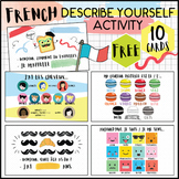 French Flash cards - Identity Describe yourself - Revisions Y7 Y8