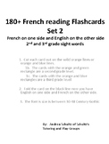 French Flashcards 180+ Words (set 2)