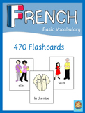 French Flash Cards  Basic Vocabulary