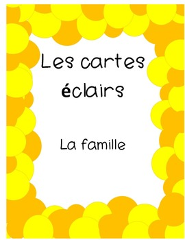 French Flashcards- Family