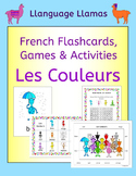 French Colors Vocabulary - Les Couleurs