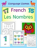 French Numbers - Les Nombres - Flashcards, Games, puzzles and Activities