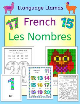 French Numbers - Les Nombres - Flashcards, Games and Activities