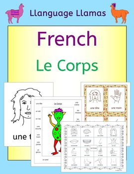 French Parts of the Body Vocabulary - Le Corps