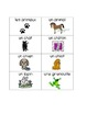 "French Flash Cards-  Vocabulary Words ""Animals"" (Les animaux)"
