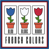 French Flower Color Printables (High Resolution)