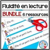 French Reading Fluency Activities | Activités pour fluidit