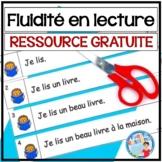 French Reading Fluency Activities   Activités pour FLUIDIT
